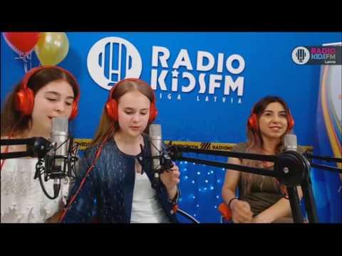 Гость RADIO KIDSFM RIGA -Мери Аветисян \2017 07 06\