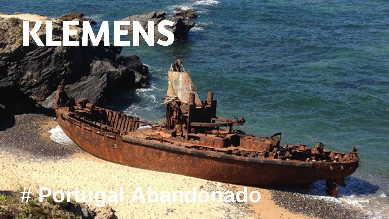 Portugal Abandonado - Rebocador Holandês