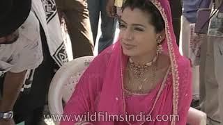 Making of the Bollywood movie 'Gaddar: Ek Prem Katha'