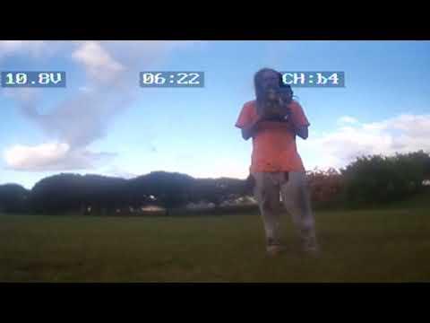 08/27/2017 eachine racer 250 Patsy T Mink park morning 2