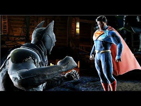 Бэтмен против Супермена в игре Injustice 2  #3 мультик игра не для детей Несправедливость 2