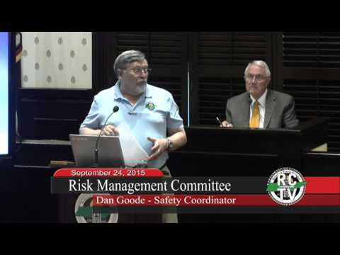 Risk Management Committee - September 24, 2015