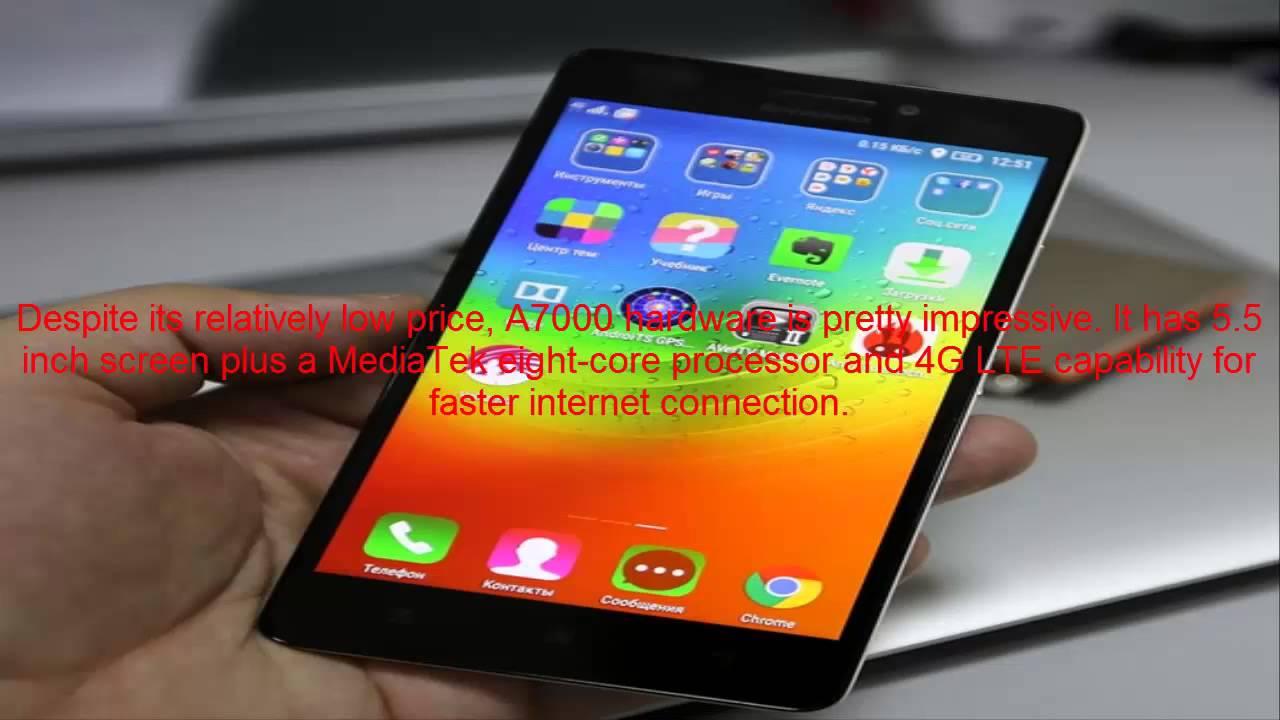 Smartphone Lenovo A7000: description, specifications, reviews 67