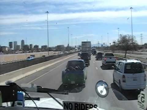 Trucking Through Tucson Arizona & Fighting a Construction Traffic Jam
