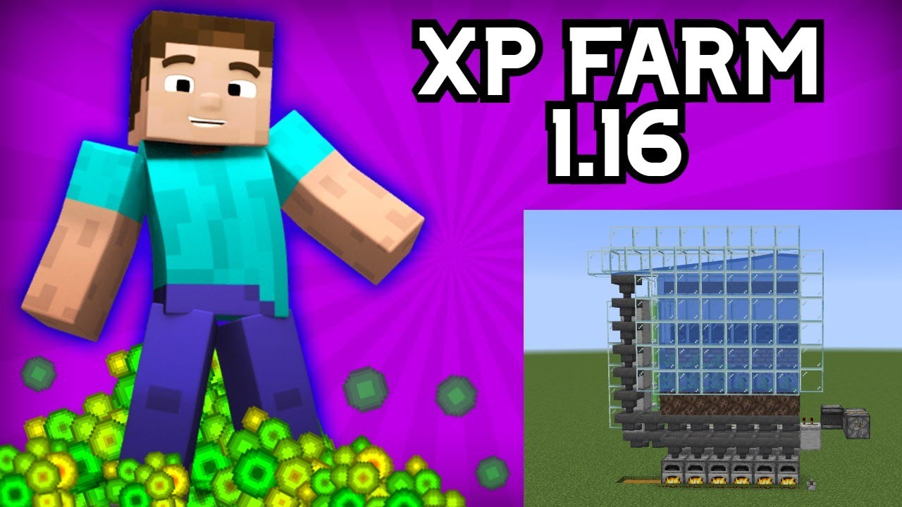 Minecraft 9.96 AUTOMATIC XP Farm/Bank (UNLIMITED XP) NO MOBS! How to Build  Tutorial