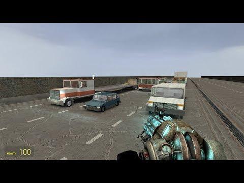 G-Mod Freeway Parkour Map (Garry's Mod)