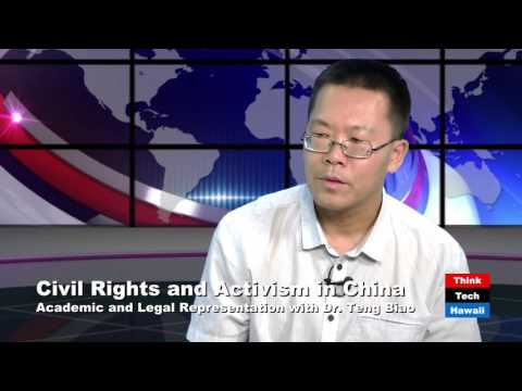Abducted Activists: China, Civil Rights and Legal Representation with Dr. Teng Biao