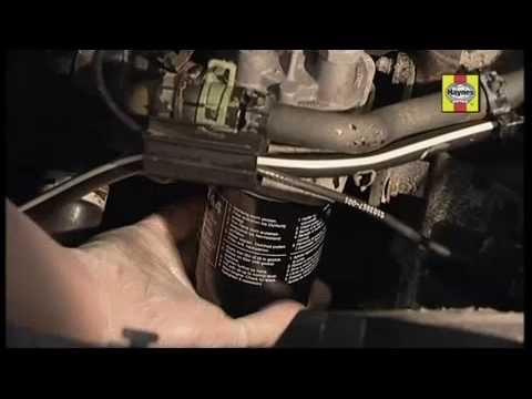 How to change engine oil in santro car 14