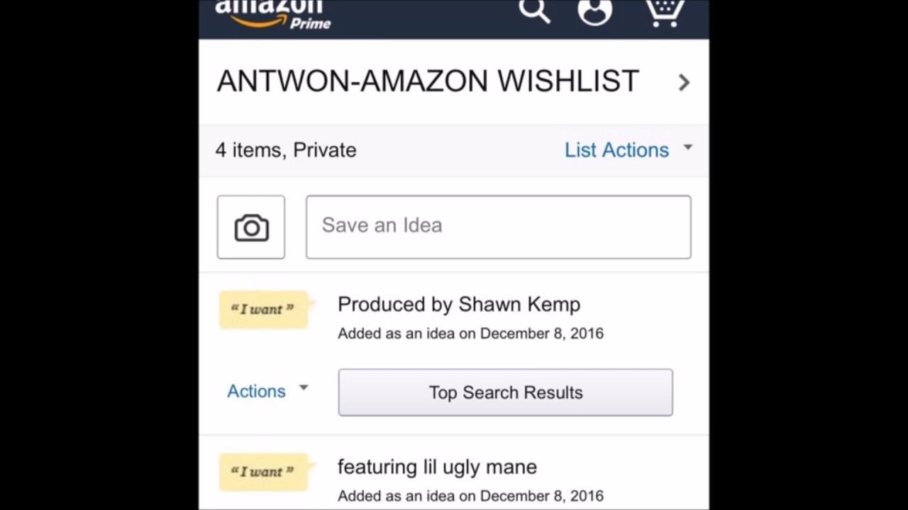 Download Antwon & Lil Ugly Mane - Amazon Wishlist