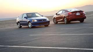 2000 Honda Civic Si vs. 2012 Honda Civic Si   Track Tested   Edmunds.com