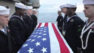 Marc Izquierdo - Navy Burial at Sea