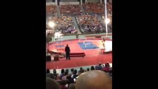 Shriners Circus Siberian Husky Routine!