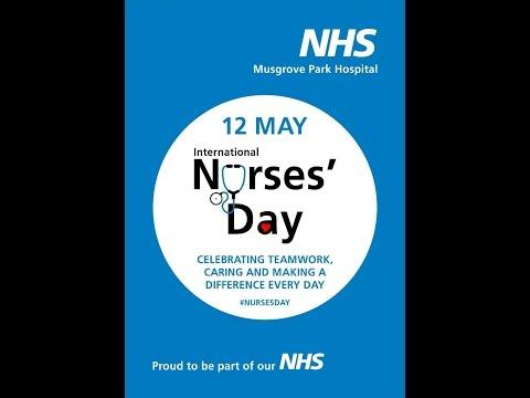 International Nurses Day 2017 Say hello to Musgrove Park dancing emergency department