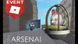 How to: Get the Caged Clucker Egg in Arsenal - Roblox Egg Hunt 2019