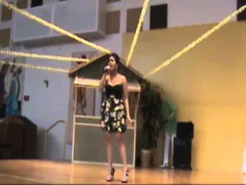 Vannessa Bayot Sings Paano Kita Mapasasalamatan At...