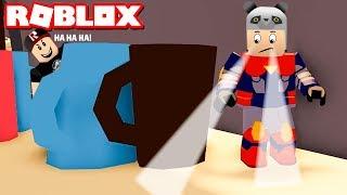 Süper Kahraman Olup Saklambaç Oynadık! Özel Güçler Kullanarak Saklan - Panda ile Roblox Hide VS Seek