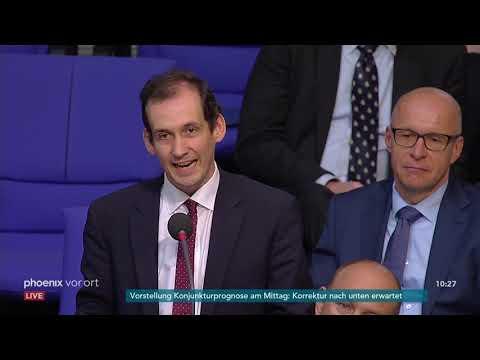 Bundestagsdebatte zum Antrag