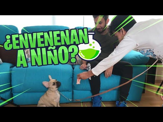 EL NIÑO APRENDE A NADAR Y TAG DEL SUPERMERCADO