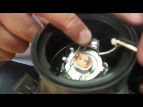 Cambio Bombilla Lampara Kia Carens 2012 Youtube