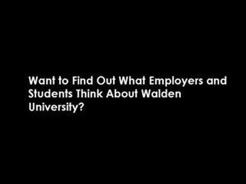 Waldon University. Walden University Degree Reviews