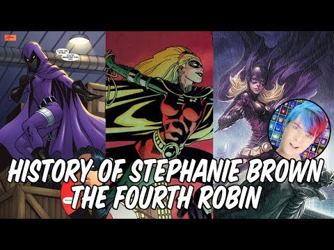 History of Stephanie Brown - The Fourth Robin