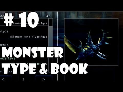 Avabel Online  Guide #10 MONSTER TYPE& BOOK