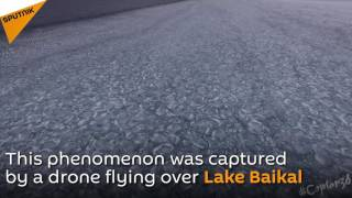 Lake Baikal Ice Waves