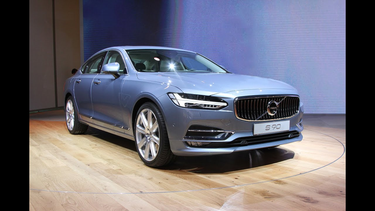 volvo s90 at the naias 2016 detroit north american international auto show youtube. Black Bedroom Furniture Sets. Home Design Ideas