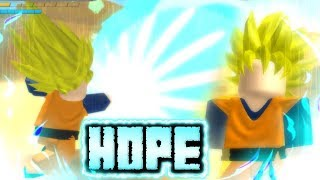 Huge Update to Dragon Ball Hope! Super Saiyan Goten + Special Ki Attacks! | Roblox