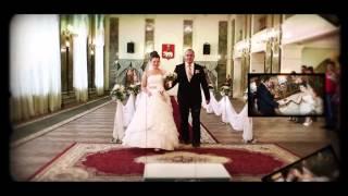 Очень красивый свадебный фильм, невеста, Пермь. Свадьба. Видео и фото.