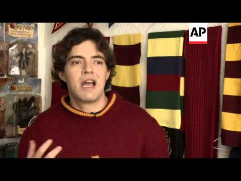 Largest collector of Potter memorabilia in Guinness Book of Records