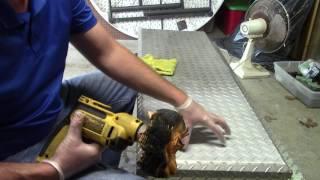 CLEANING ALUMINUM WITH ACID PLUS POLISHING