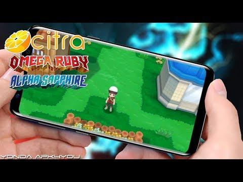 New 3DS Emulator! Setup Citra 0.5.1 Pokemon Omega Ruby Android Gameplay