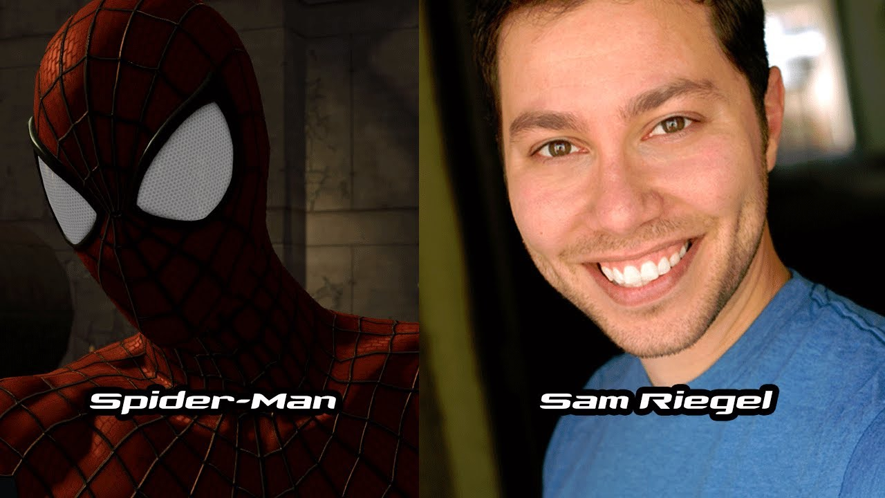 characters and voice actors - the amazing spider-man 2 (2014 video