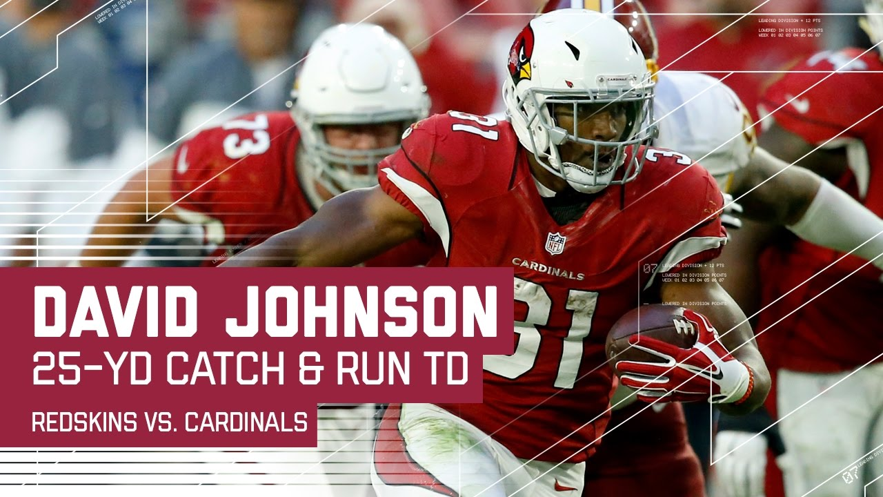 David Johnson good to go against Giants, Kirk out for 3rd straight game