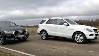Audi Q7 3.0 TDI vs Mercedes ML400