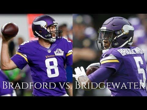 Highlight Battle: Teddy Bridgewater VS. Sam Bradford