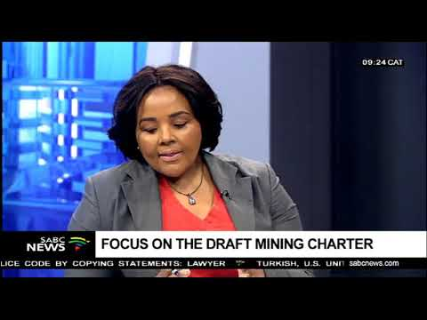 Minister Of Mineral Resources On Draft Mining Charter
