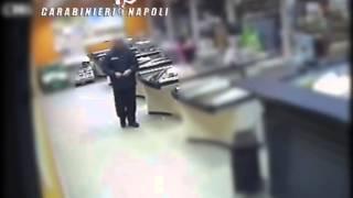 Ponticelli, rapina al supermercato
