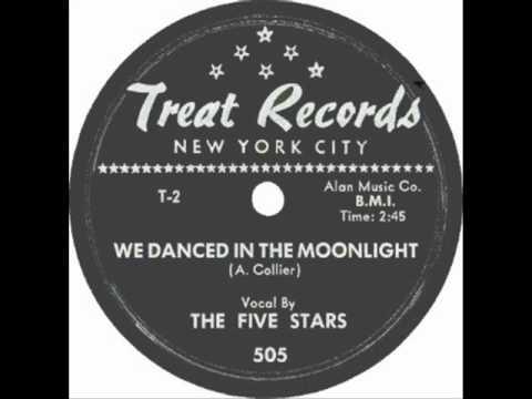 FIVE STARS     We Danced In The Moonlight     1955