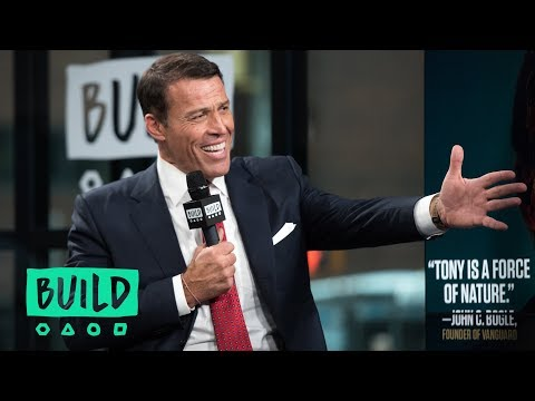 "Tony Robbins On ""UNSHAKEABLE: Your Financial Freedom Playbook"""