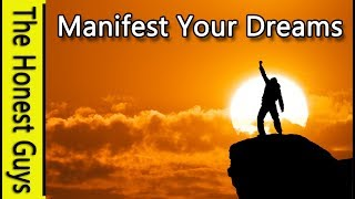 Guided Meditation: Manifest Your Dreams, Self Hypnosis (33 Mins With Wake-up)