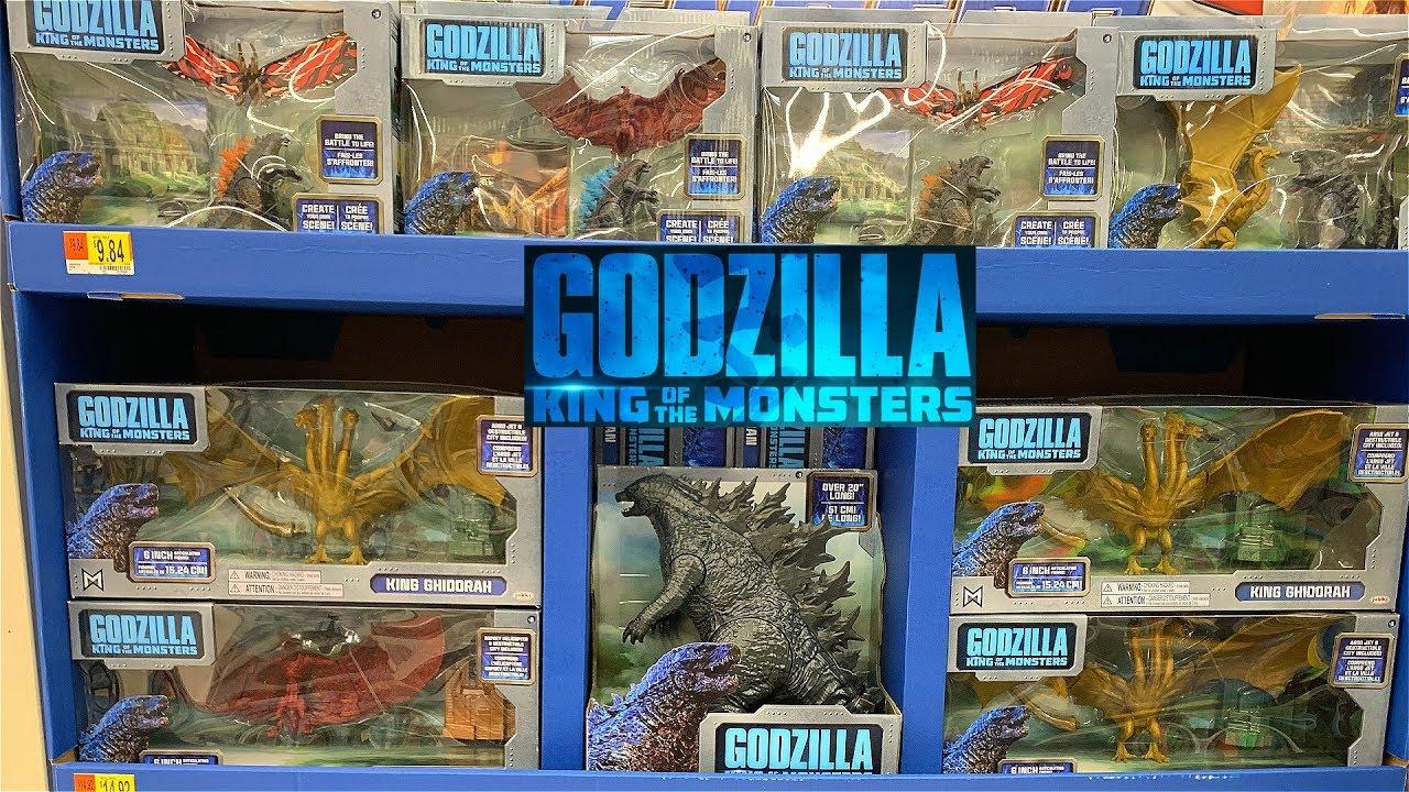 NEWGodzilla King Of The Monsters Toys Found At Walmart