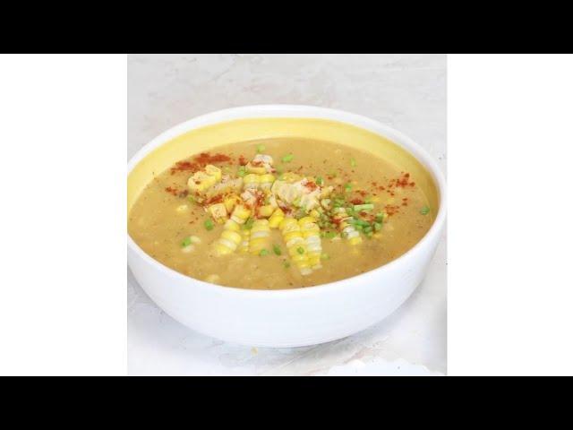 How to make Vegan corn chowder