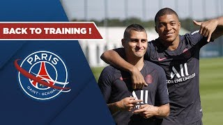 REPRISE DE L'ENTRAINEMENT - BACK TO TRAINING