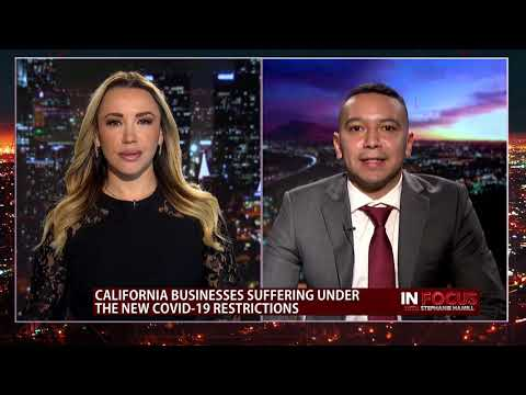 Daily Caller Field Reporter, Jorge Ventura, on Draconian Covid-19 Restrictions