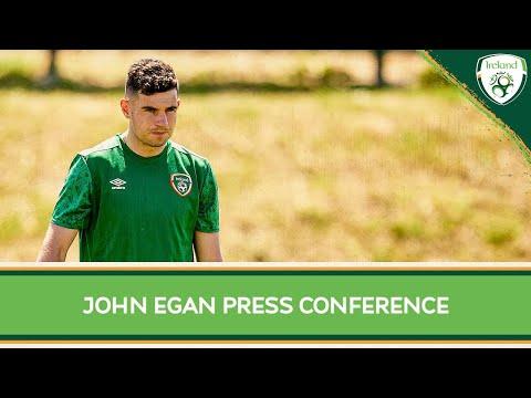 PRESS CONFERENCE   John Egan