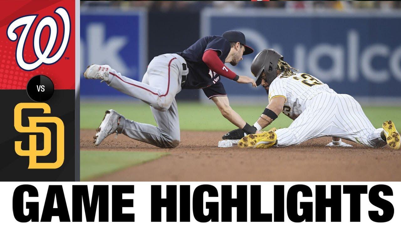 Download Nationals vs. Padres Game Highlights (7/8/21) | MLB Highlights