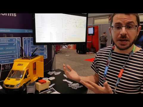 Eclipse IoT Open Testbed for Asset Tracking - Live demo at Red Hat Summit 2017