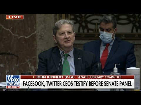 11 17 20 Kennedy questions Twitter and Facebook CEOs on censorship